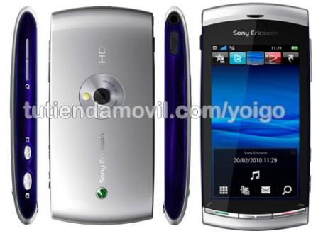 Sony Ericsson Vivaz con Yoigo